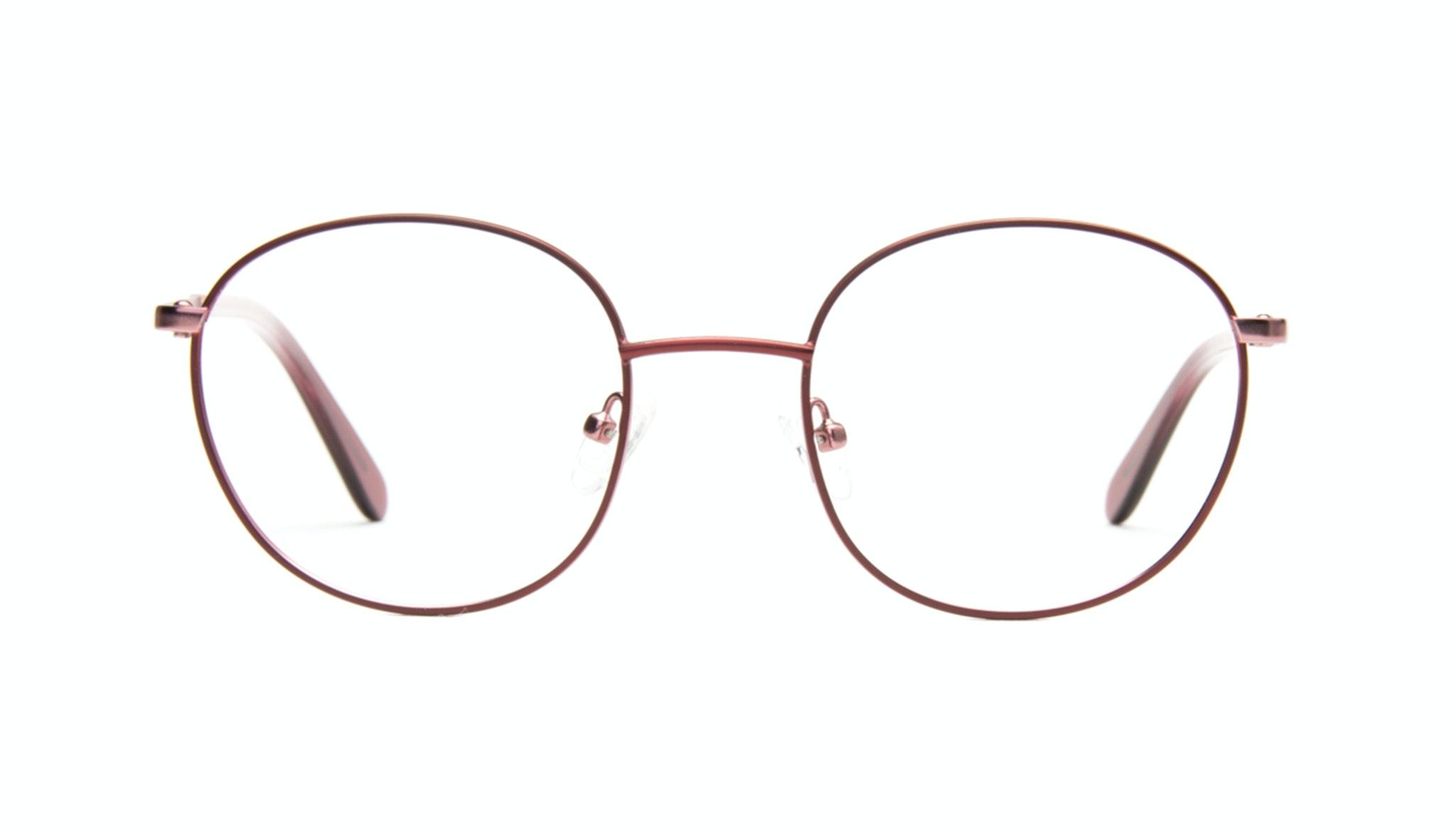 Lunettes tendance Ronde Optiques Femmes Joy Cranberry
