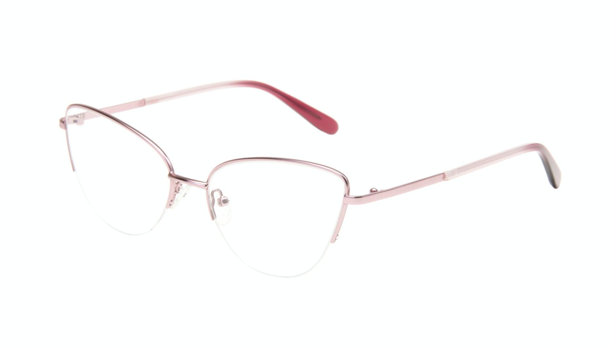 Affordable Fashion Glasses Cat Eye Eyeglasses Women Airy  Rose Marble Tilt