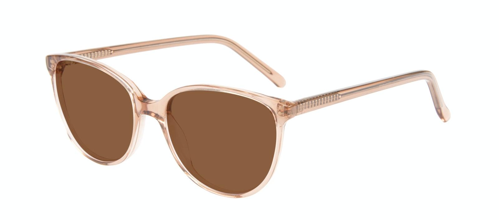 Affordable Fashion Glasses Round Sunglasses Women Imagine Petite Rose Tilt