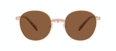 Affordable Fashion Glasses Round Sunglasses Women Curious Rose Front