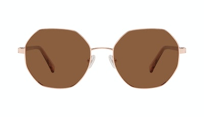 Affordable Fashion Glasses Round Sunglasses Women Fantasy Rose Front