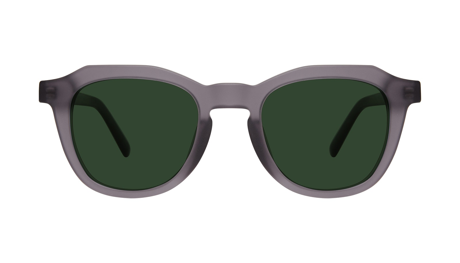 Affordable Fashion Glasses Square Sunglasses Men Action Matte Grey