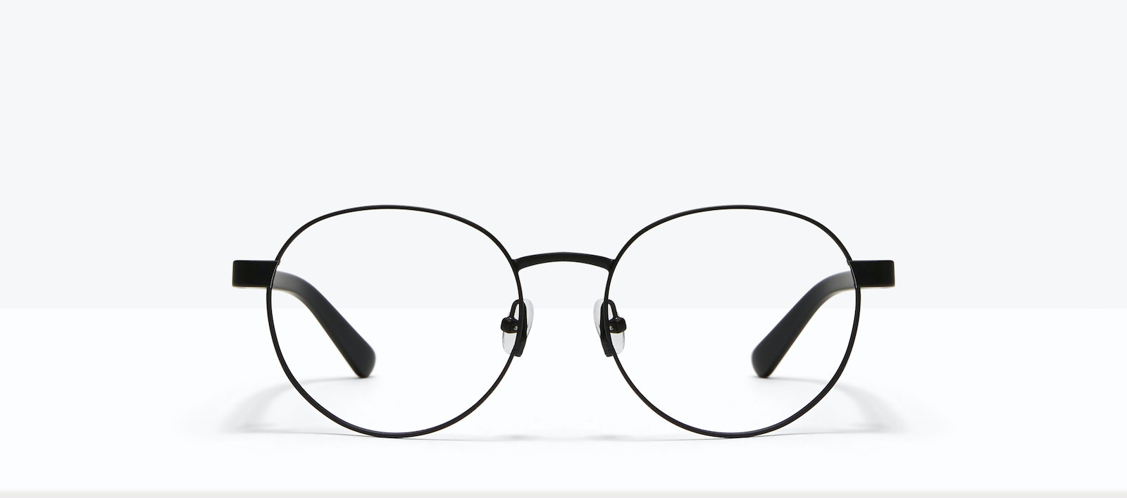 Affordable Fashion Glasses Round Eyeglasses Men Alter Black Front