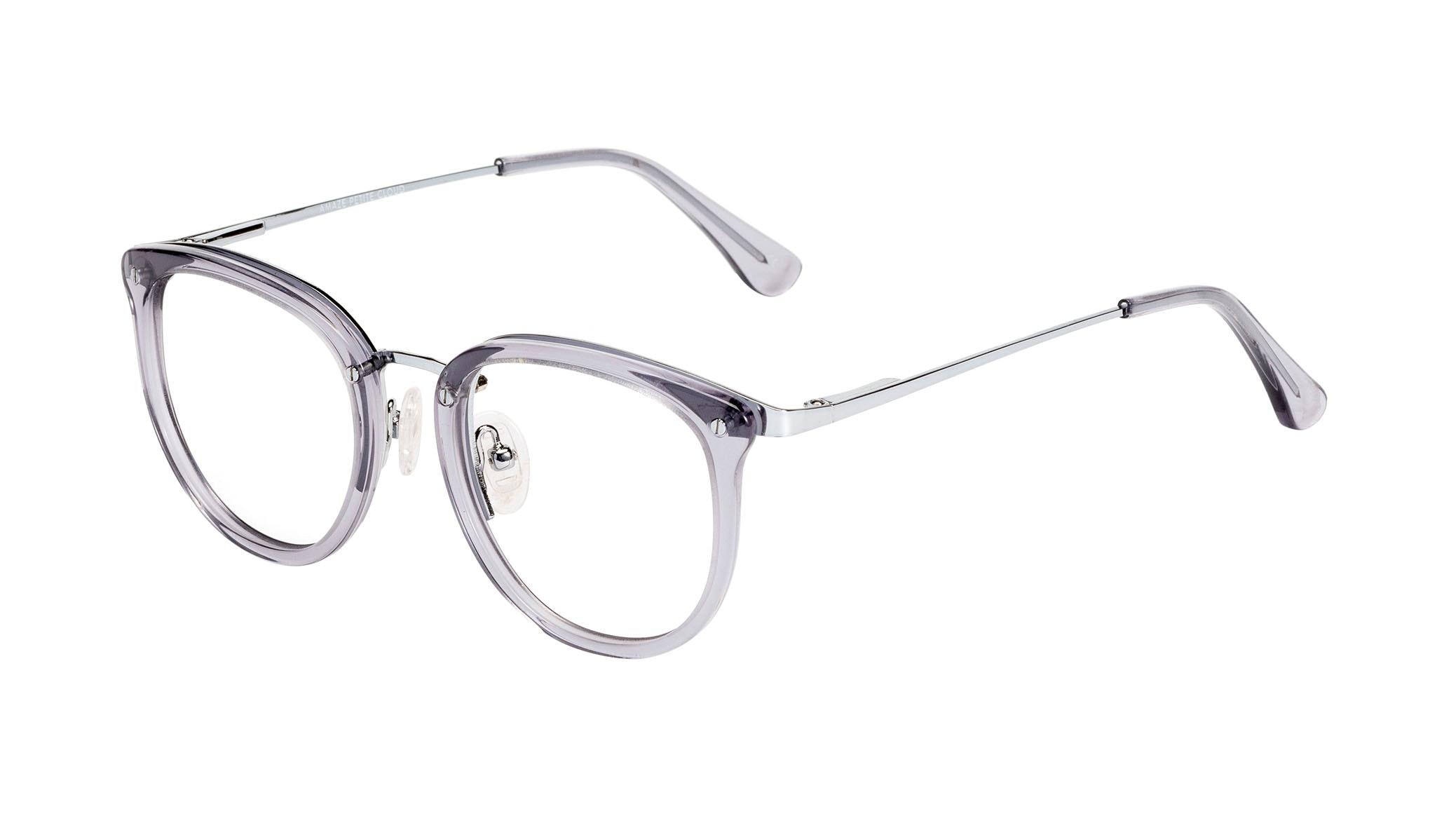 Affordable Fashion Glasses Round Eyeglasses Women Amaze Petite Cloud Tilt