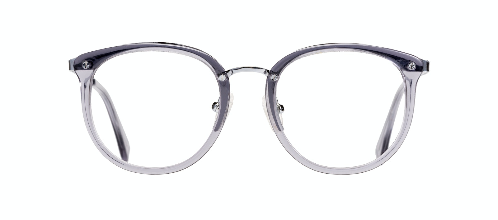 Affordable Fashion Glasses Round Eyeglasses Women Amaze Petite Cloud Front