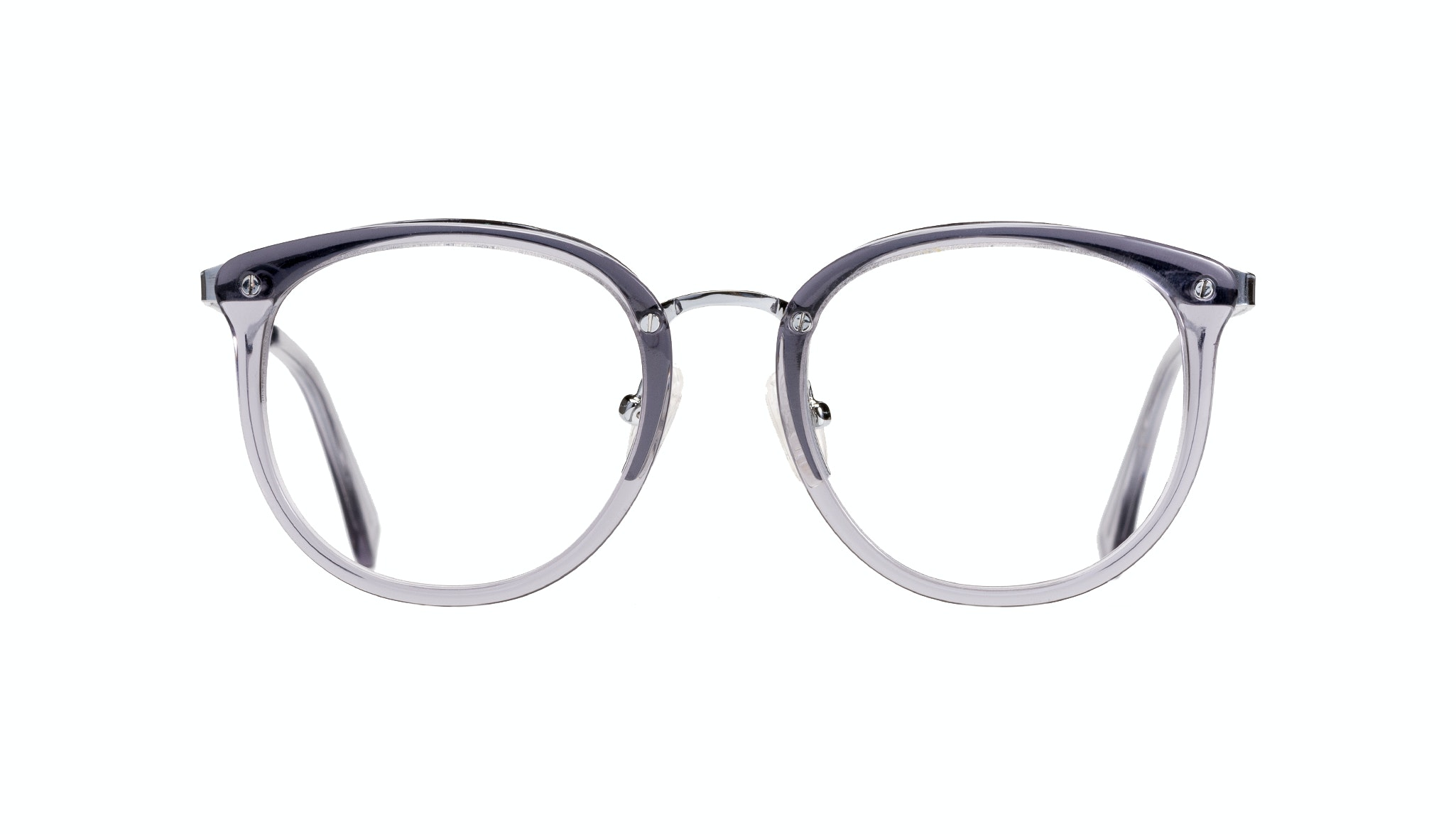 Affordable Fashion Glasses Round Eyeglasses Women Amaze Petite Cloud Front