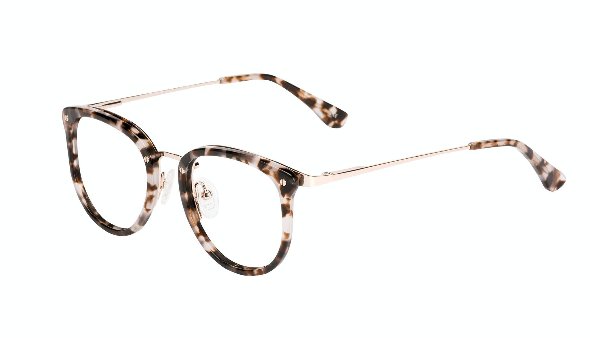 Affordable Fashion Glasses Round Eyeglasses Women Amaze Petite Mocha Tort Tilt