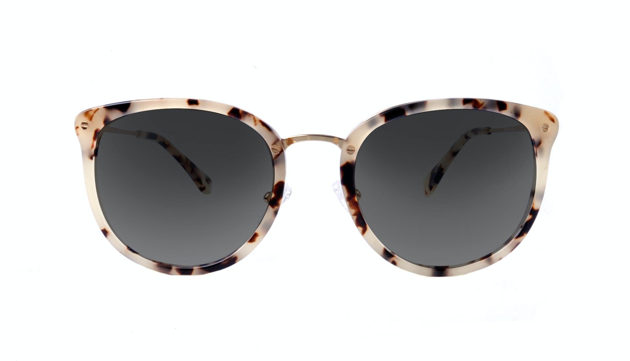 Affordable Fashion Glasses Round Sunglasses Women Amaze Granite
