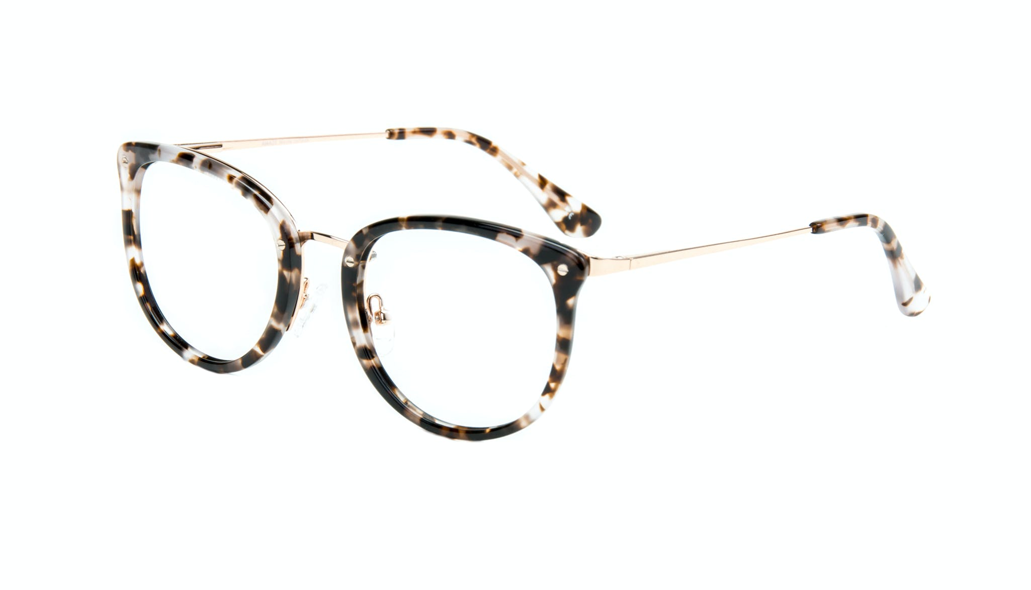 Affordable Fashion Glasses Square Round Eyeglasses Women Amaze Mocha Tortoise Tilt