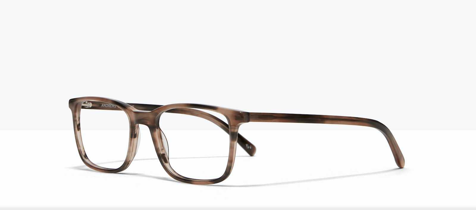 Affordable Fashion Glasses Square Eyeglasses Men Andrews Shoreline Tilt