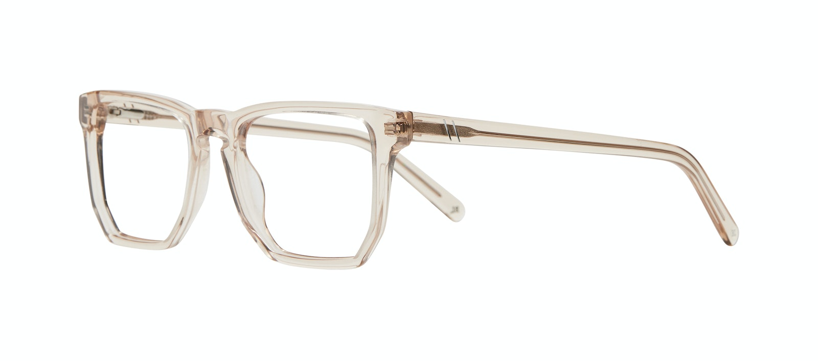 Affordable Fashion Glasses Square Eyeglasses Men Andy Golden Tilt
