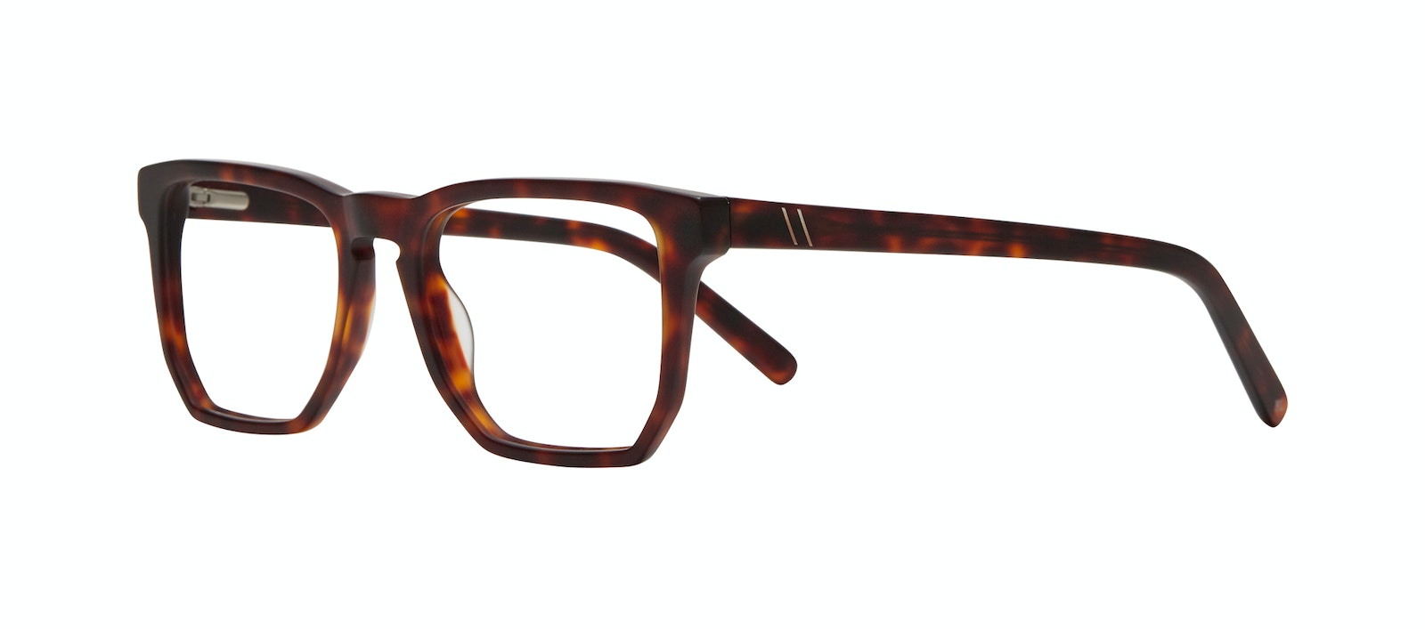 Affordable Fashion Glasses Square Eyeglasses Men Andy Matte Tortoise Tilt