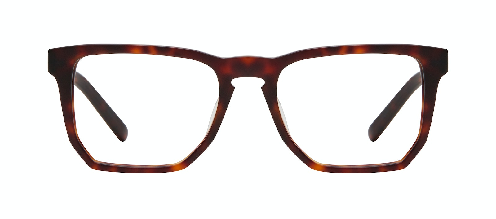 Affordable Fashion Glasses Square Eyeglasses Men Andy Matte Tortoise Front