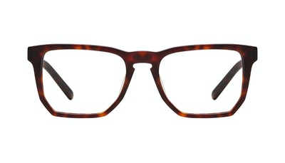 Affordable Fashion Glasses Square Eyeglasses Men Andy Matte Tortoise Front
