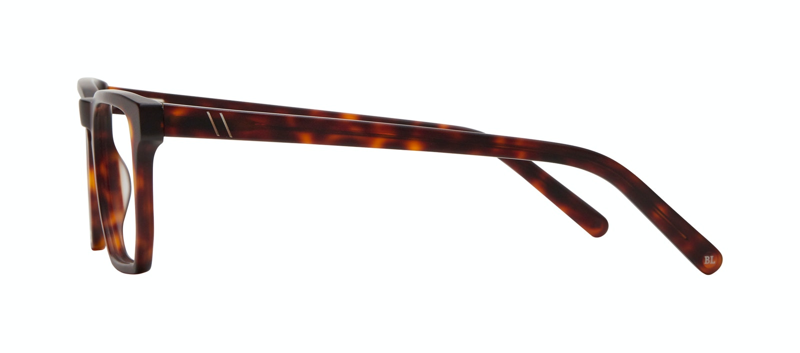 Lunettes tendance Carrée Lunettes de vue Hommes Andy Matte Tortoise Profil