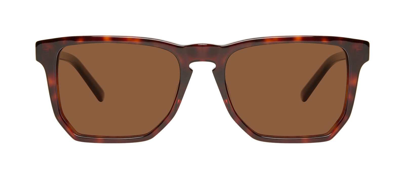 Affordable Fashion Glasses Square Sunglasses Men Andy Tortoise Front