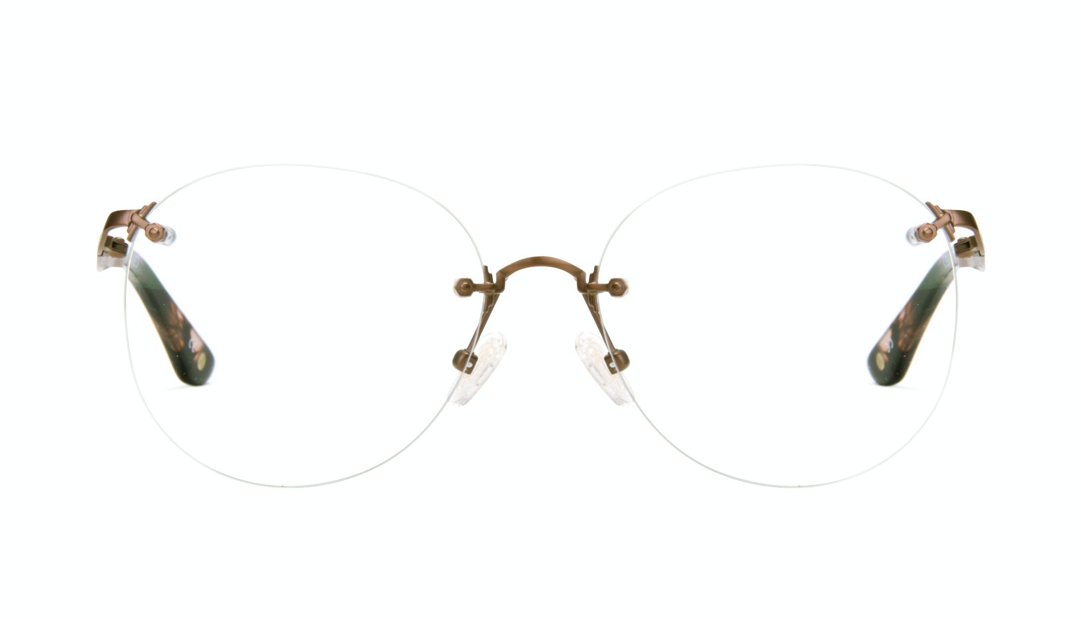 Affordable Fashion Glasses Aviator Eyeglasses Women Anna Naked Front