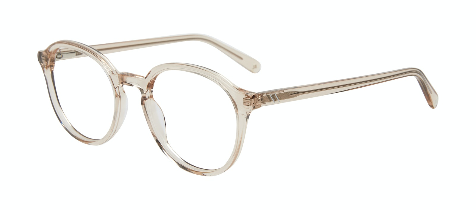 Affordable Fashion Glasses Round Eyeglasses Men Ansel Golden Tilt