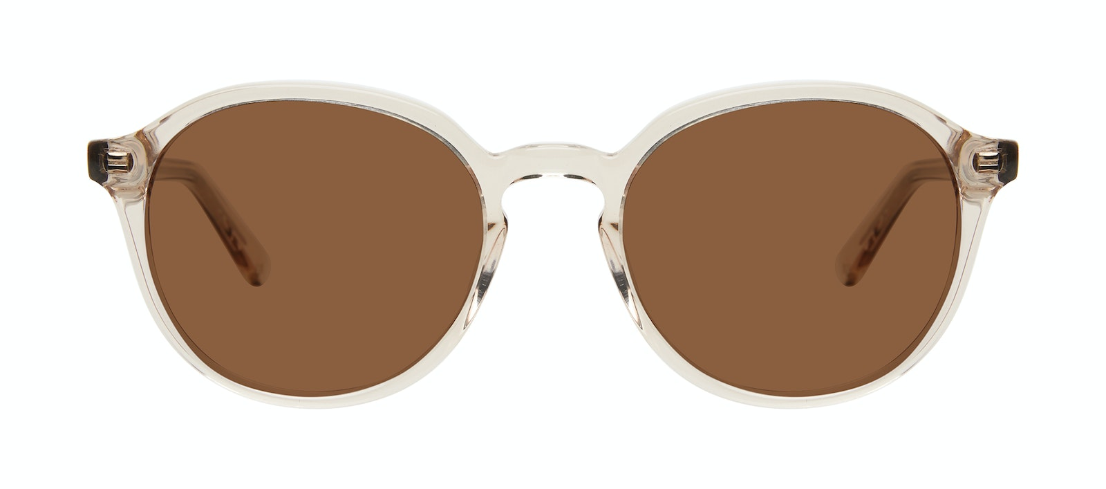 Affordable Fashion Glasses Round Sunglasses Men Ansel Golden Front