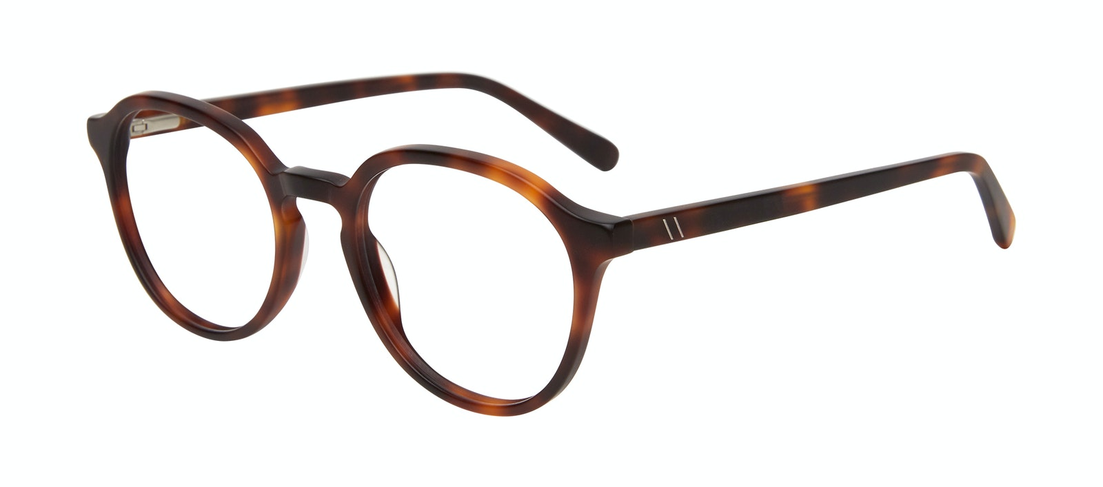 Affordable Fashion Glasses Round Eyeglasses Men Ansel Matte Tortoise Tilt