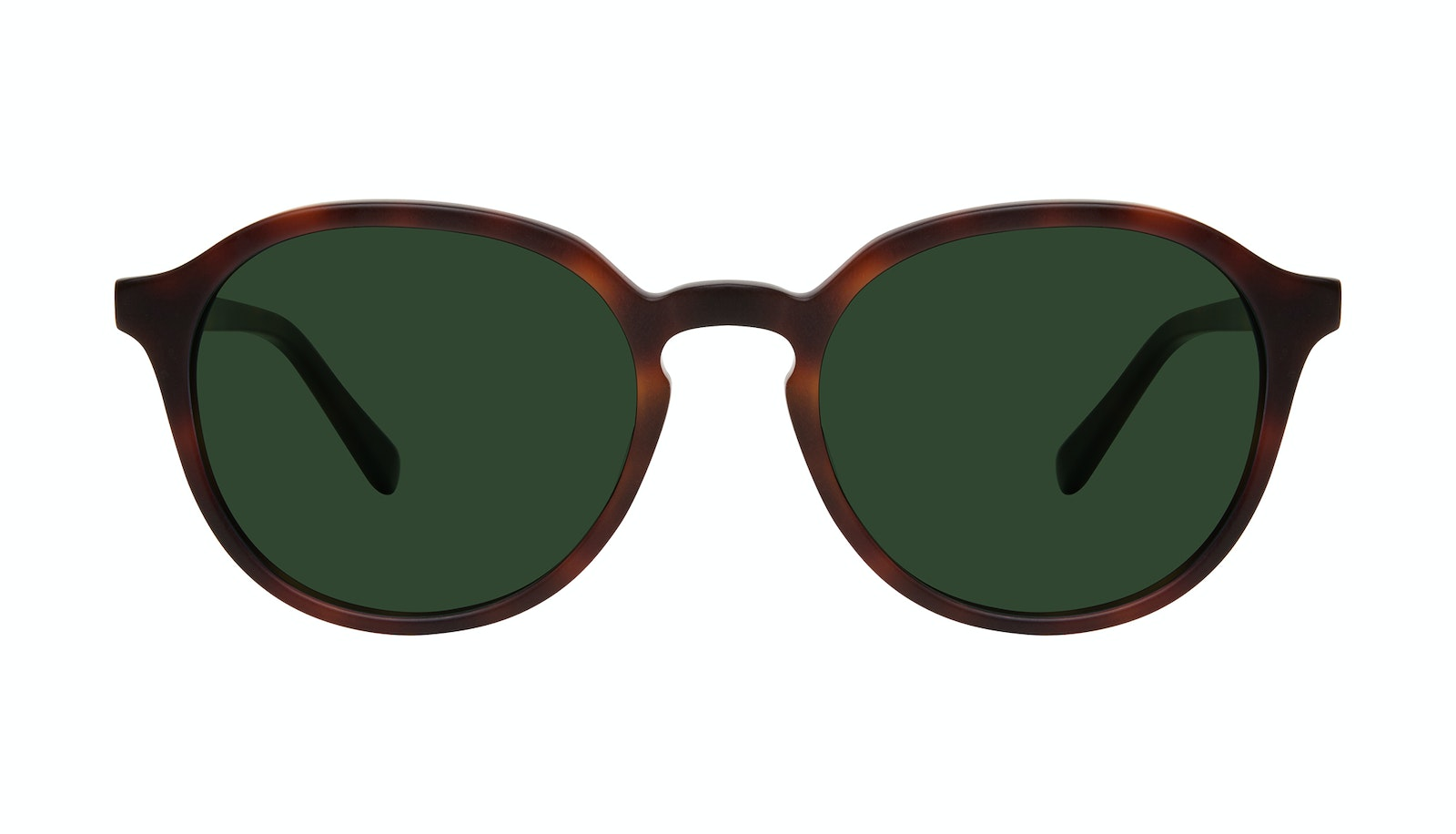 Affordable Fashion Glasses Round Sunglasses Men Ansel Matte Tortoise