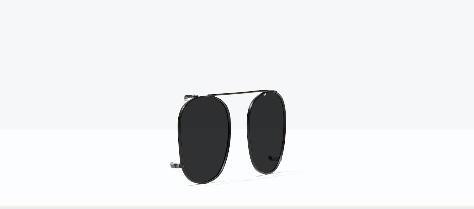 Affordable Fashion Glasses Accessory Men Women Apex Clip S Matte Black Tilt