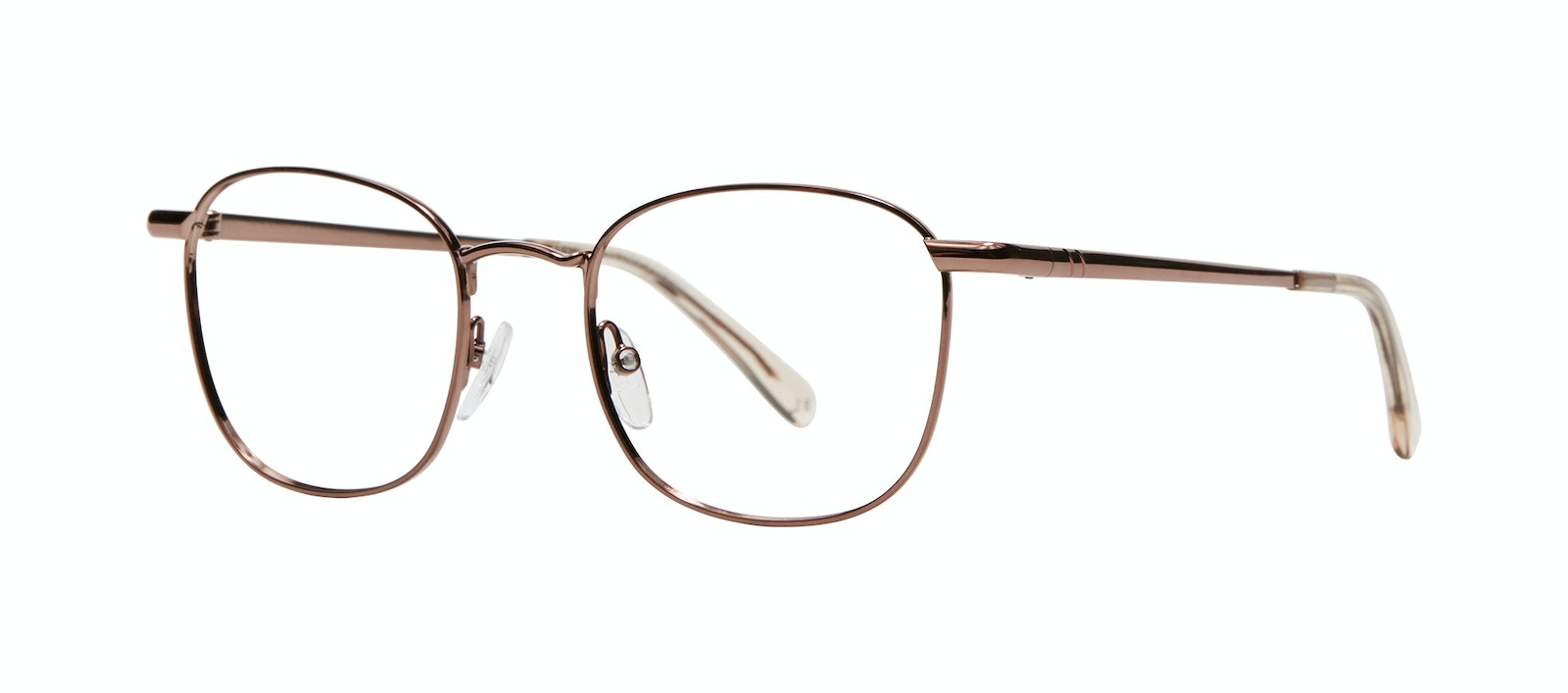 Affordable Fashion Glasses Square Eyeglasses Men Apex M Copper Tilt