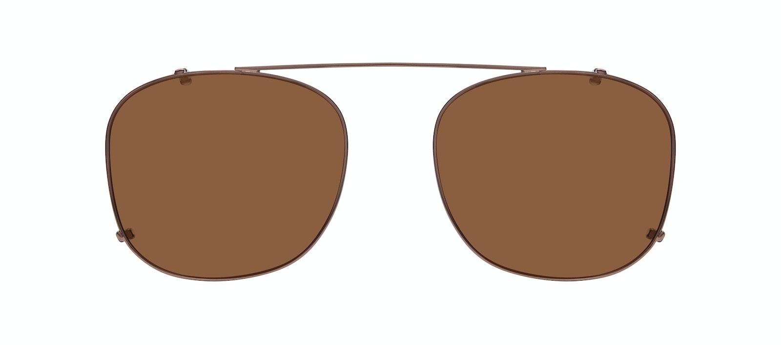 Affordable Fashion Glasses Accessory Men Apex Clip M Copper Front