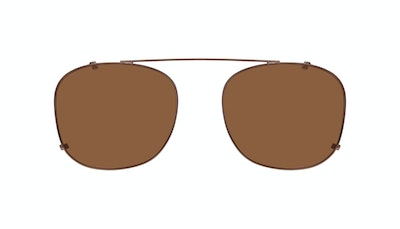 Affordable Fashion Glasses Accessory Men Apex Clip M Copper Front