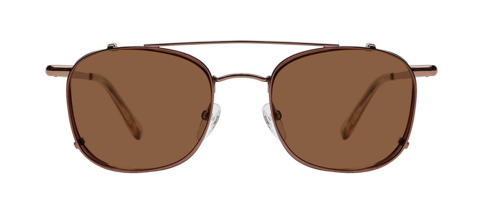 Affordable Fashion Glasses Accessory Men Apex Clip M Copper Side