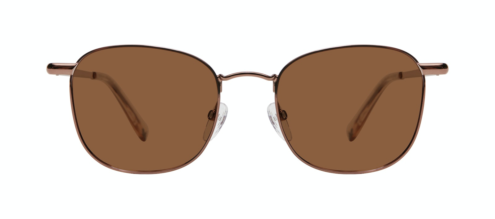 Affordable Fashion Glasses Square Sunglasses Men Apex M Copper Front