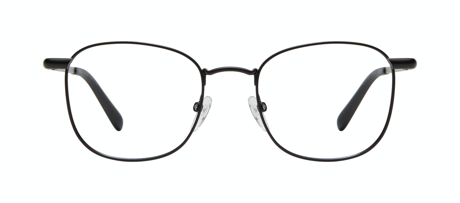 Affordable Fashion Glasses Square Eyeglasses Men Women Apex M Matte Black Front