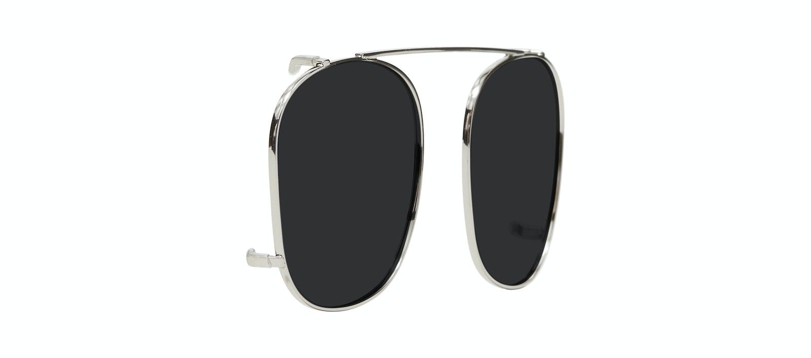 Lunettes tendance Accessoire Hommes Apex Clip M Silver Incliné