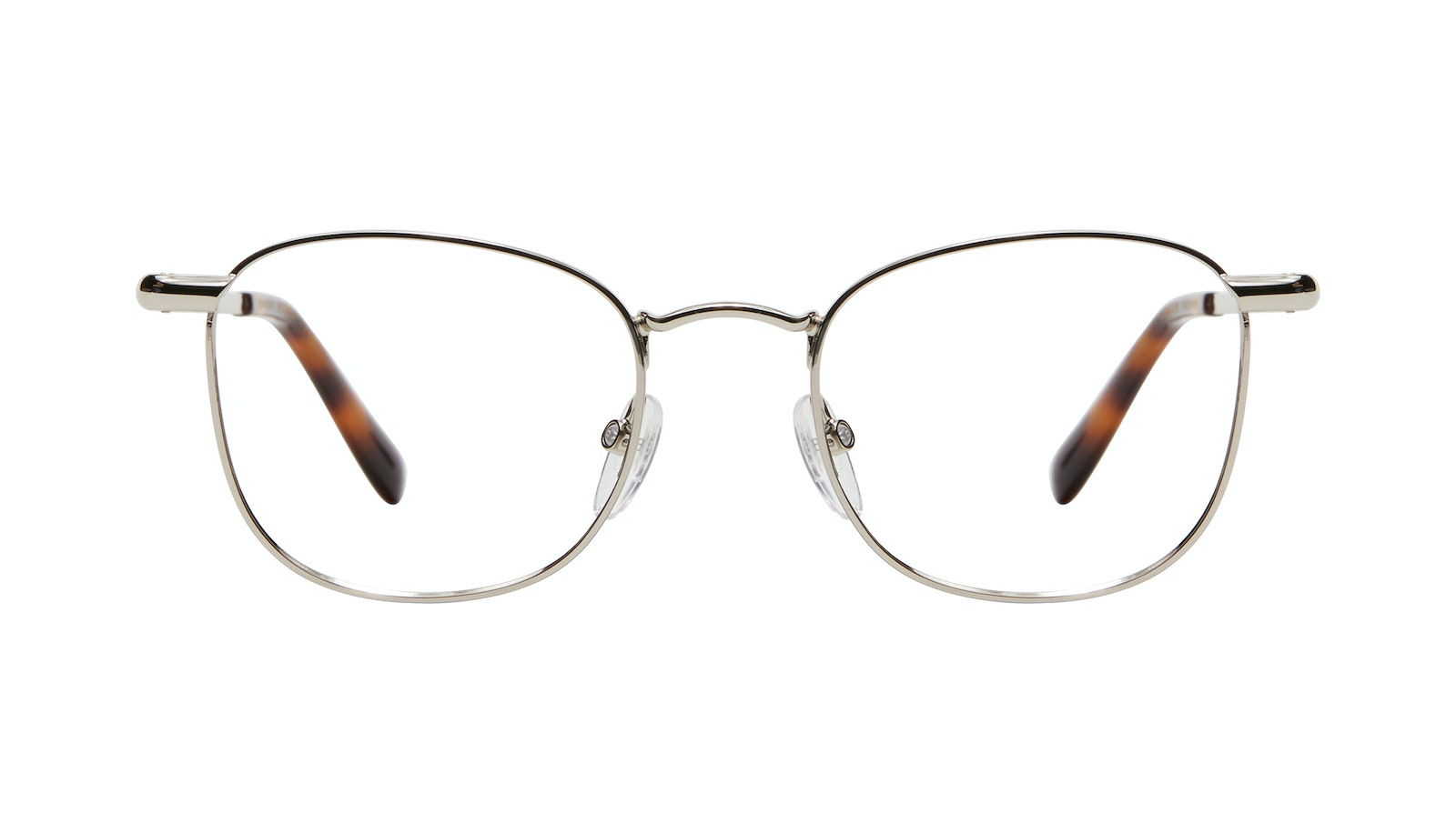 Affordable Fashion Glasses Square Eyeglasses Men Apex M Silver