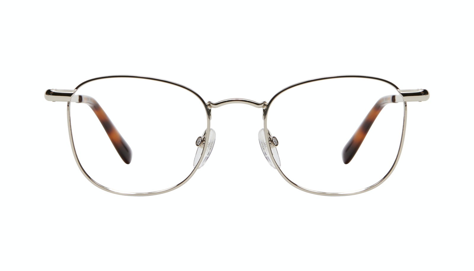 Affordable Fashion Glasses Square Eyeglasses Men Women Apex M Silver