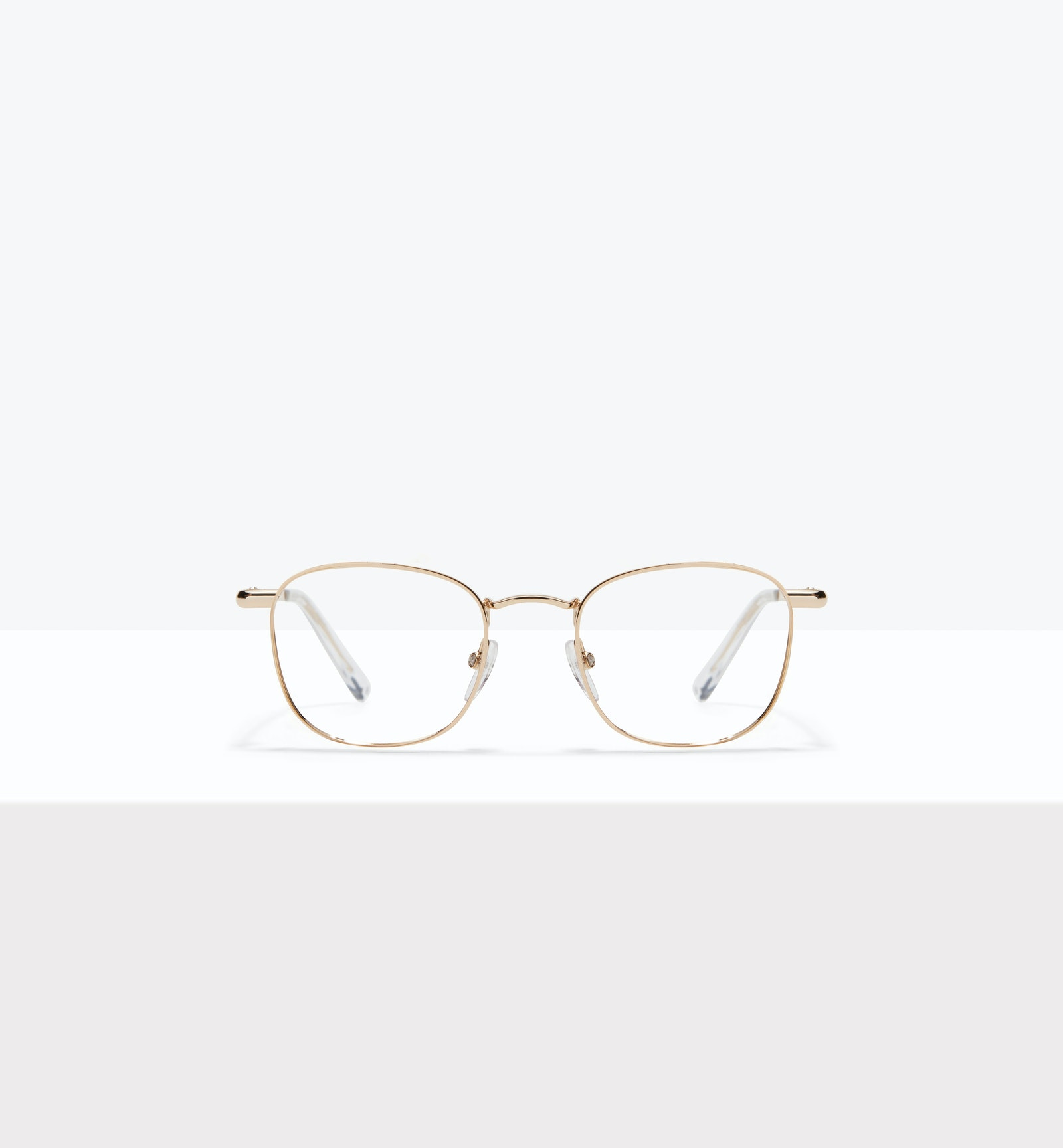 Affordable Fashion Glasses Square Eyeglasses Men Women Apex M Gold