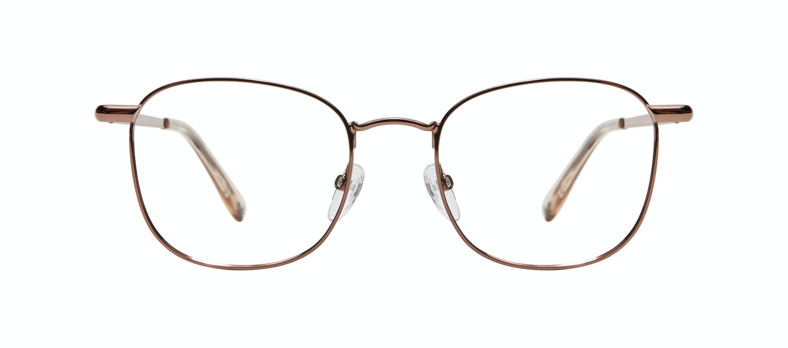 Affordable Fashion Glasses Square Eyeglasses Men Apex S Copper Front