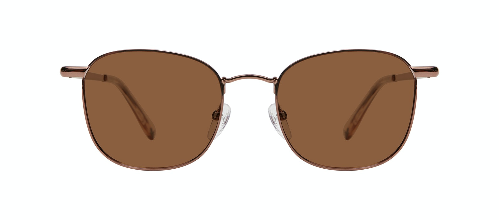 Affordable Fashion Glasses Square Sunglasses Men Apex S Copper Front
