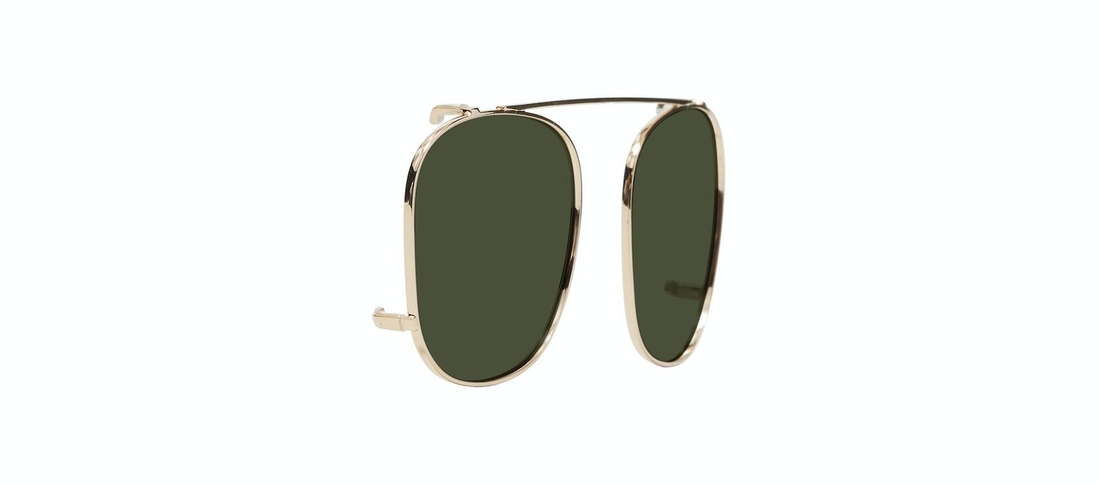 Affordable Fashion Glasses Accessory Men Women Apex Clip S Gold Tilt