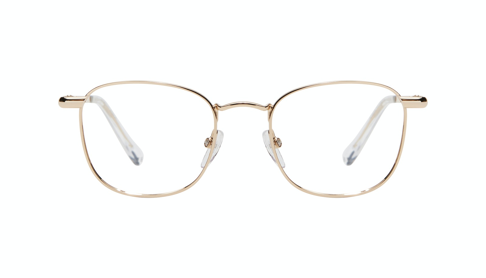 Affordable Fashion Glasses Square Eyeglasses Men Apex S Gold