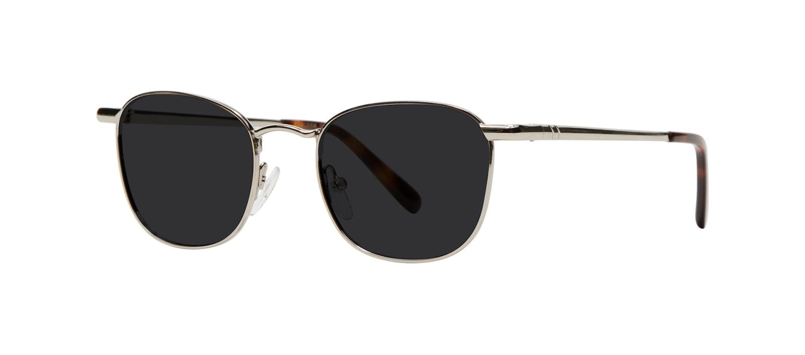 Affordable Fashion Glasses Square Sunglasses Men Apex S Silver Tilt