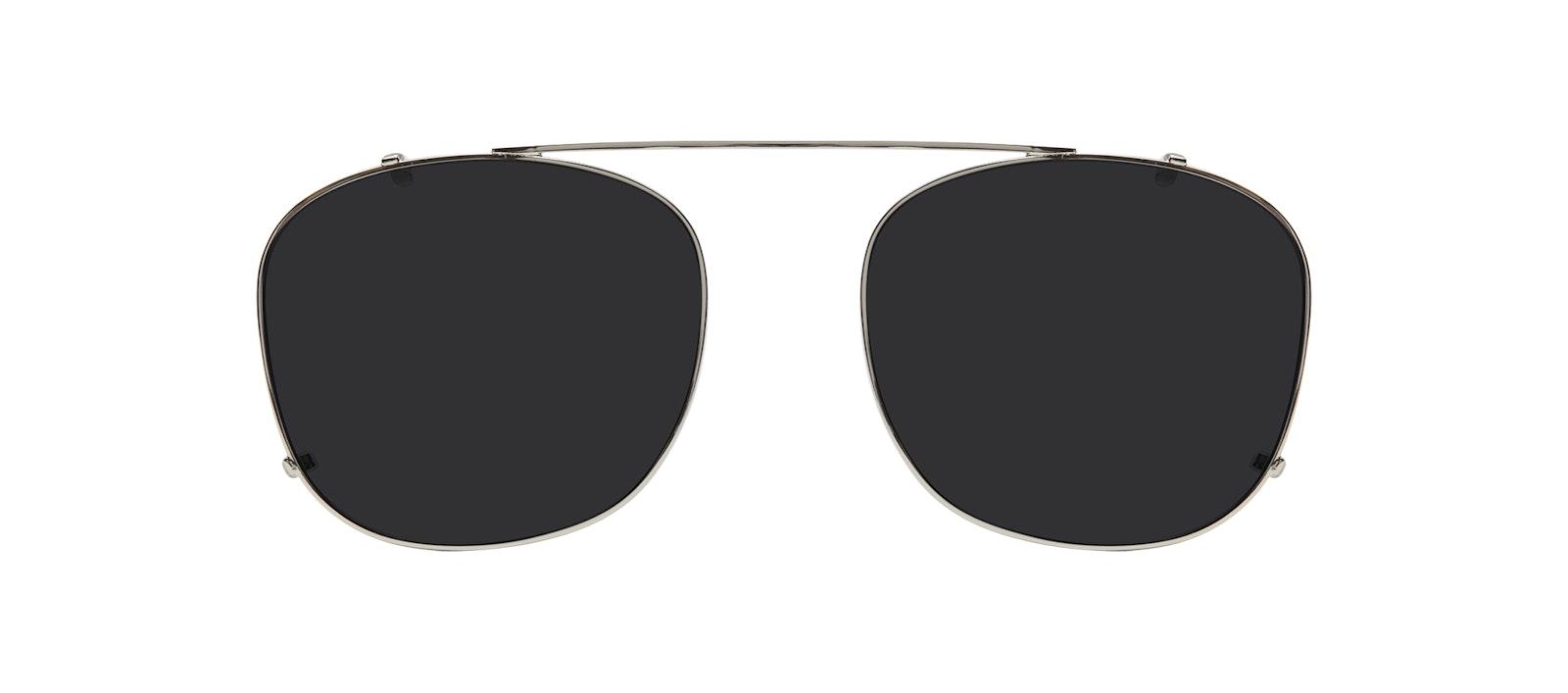Affordable Fashion Glasses Accessory Men Apex Clip S Silver Front