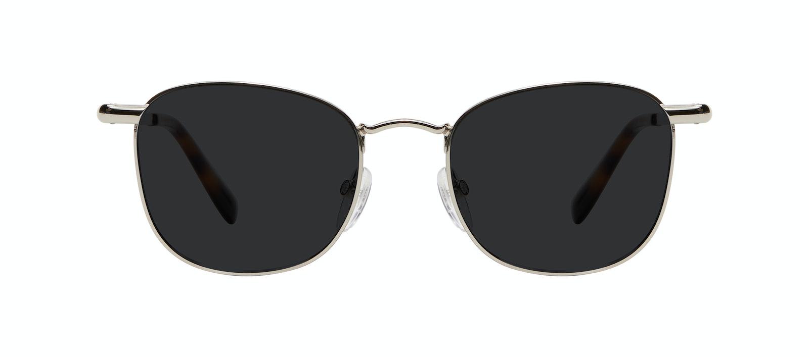 Affordable Fashion Glasses Square Sunglasses Men Women Apex S Silver Front