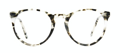 Affordable Fashion Glasses Round Eyeglasses Men Arch Camo Tort Front