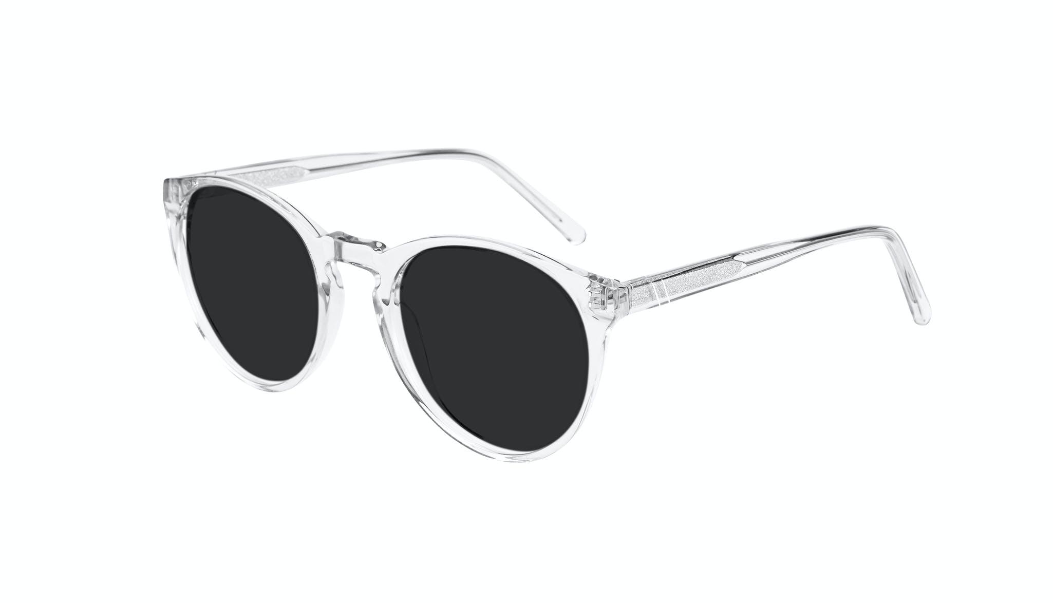 Affordable Fashion Glasses Round Sunglasses Men Arch Grey Tilt