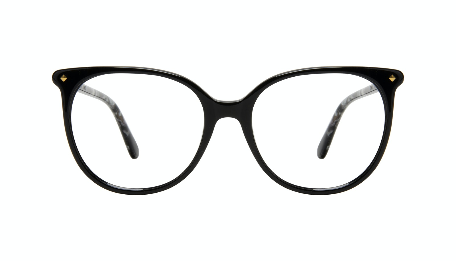Affordable Fashion Glasses Round Eyeglasses Women Area Petite Onyx