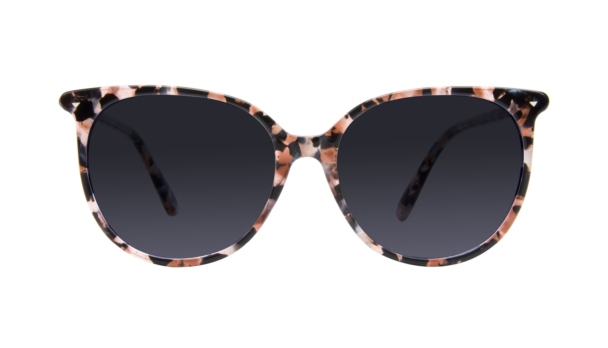 Affordable Fashion Glasses Cat Eye Square Sunglasses Women Area Pink Tortoise