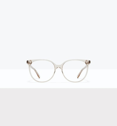 Affordable Fashion Glasses Round Eyeglasses Women Area L Blond Front