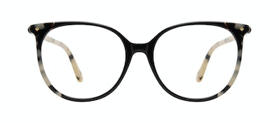 Affordable Fashion Glasses Round Eyeglasses Women Area Ebony Granite Front