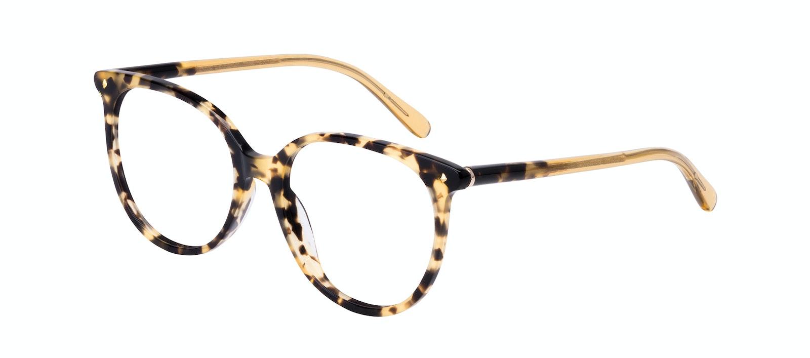 Affordable Fashion Glasses Round Eyeglasses Women Area Petite Bingal Tilt